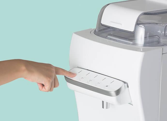 ボタンの操作方法