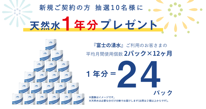 富士の湧水 キャンペーン
